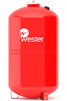 Бак мембранный для отопления WRV 100 (5 бар 100л) Wester